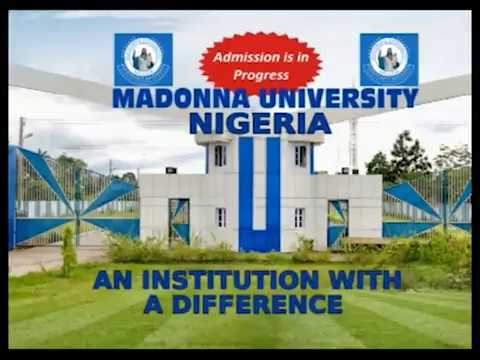 Madonna University Nigeria Advert