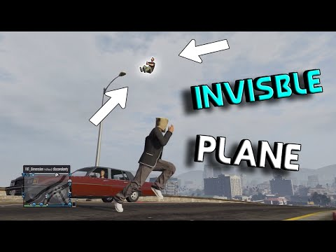 INVISIBLE PLANE! (GTA)