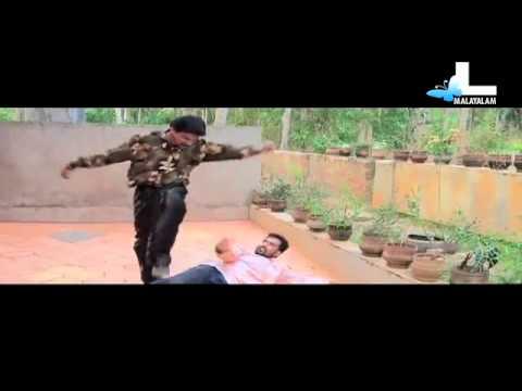 Santhosh Pandit - Krishnanum Radhayum - Fight scene & dialogues