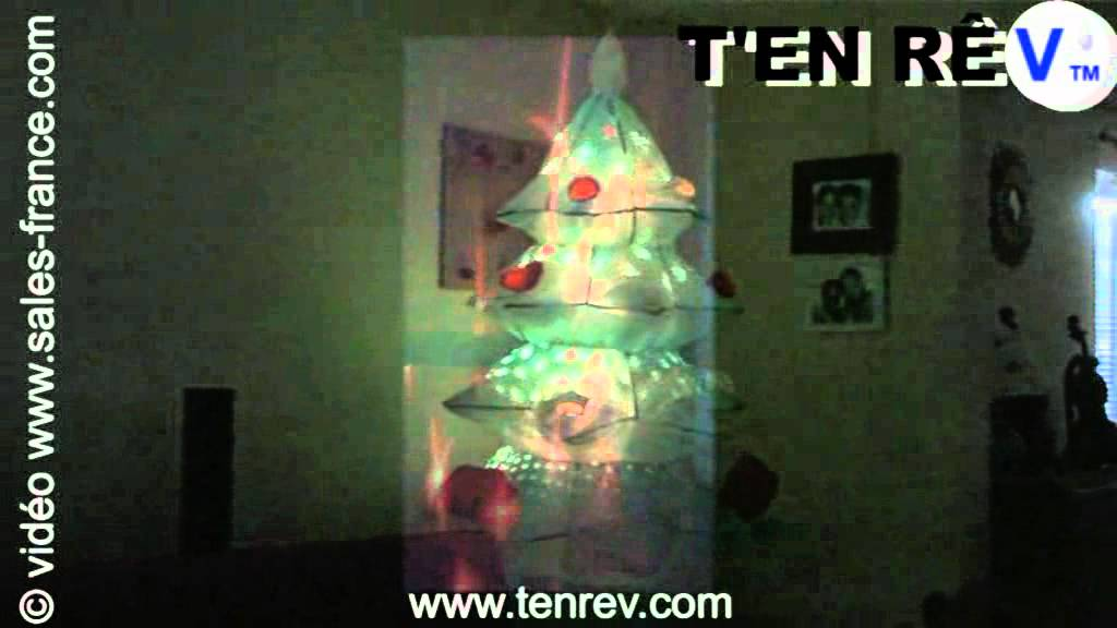 D coration laser sapin ou p re no l animation lumi re - Etoile lumineuse noel exterieur ...