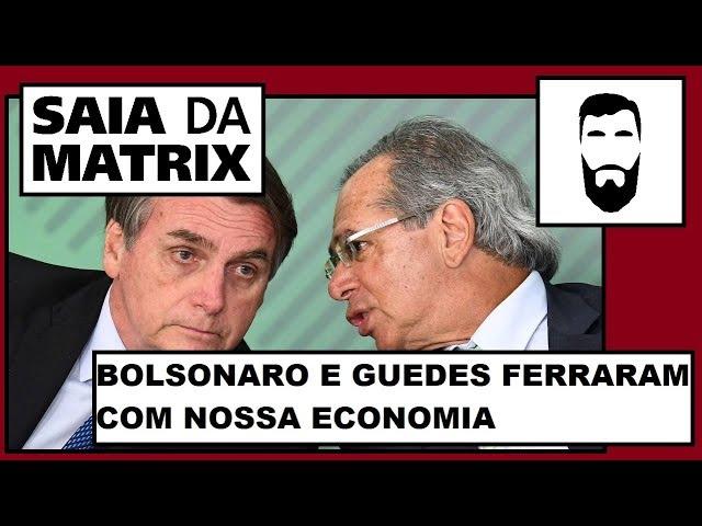 2019 PROVOU QUE PAULO GUEDES NÃO CONSEGUIU RECUPERAR A ECONOMIA BRASILEIRA