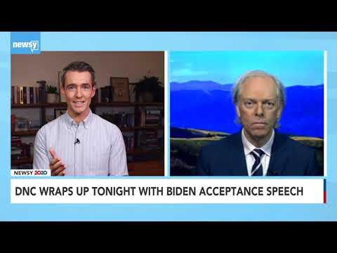 Newsy, Aug. 20, 2020: Spencer Critchley on Joe Biden's DNC Speech