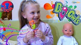 Лялька Бебі Борн і Ярослава. Розпакування та огляд Інтерактивної Іграшки — Сова. DigiOwls Toy