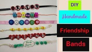 DIY Friendship Bracelets: Friendship Band for Friendship Day 2018,How to make Bracelet/Belt at Home