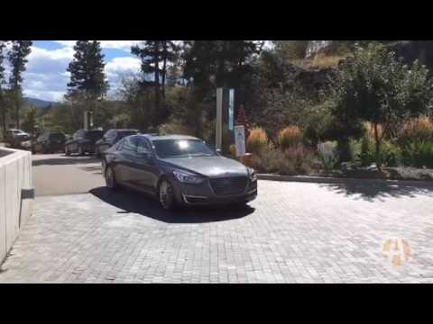 2017 Genesis G90 First Drive Review Video