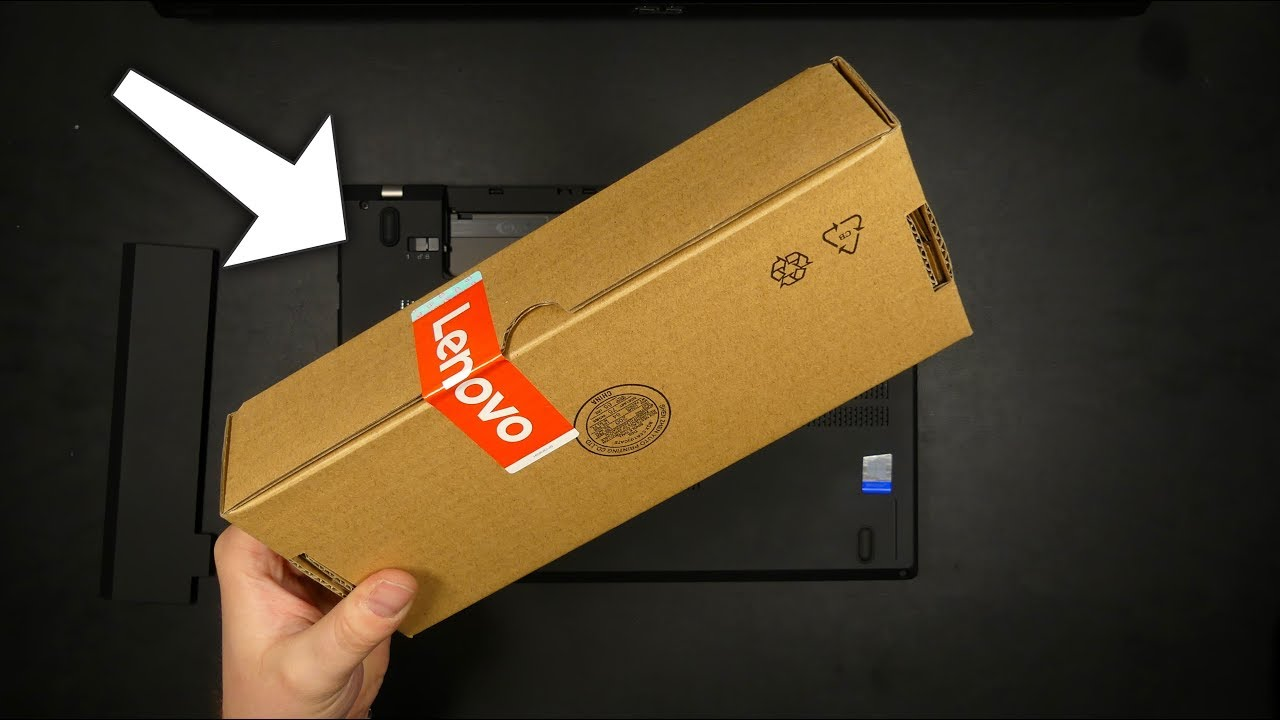 Lenovo ThinkPad Battery 61++ 72Wh - Unboxing