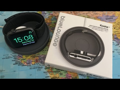 Bluelounge Kosta | An Affordable And Stylish Charging Stand Dock For The Apple Watch Dock | Review