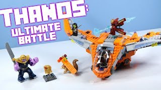 LEGO Avengers Infinity War Thanos: Ultimate Battle with Minifigure Gauntlet