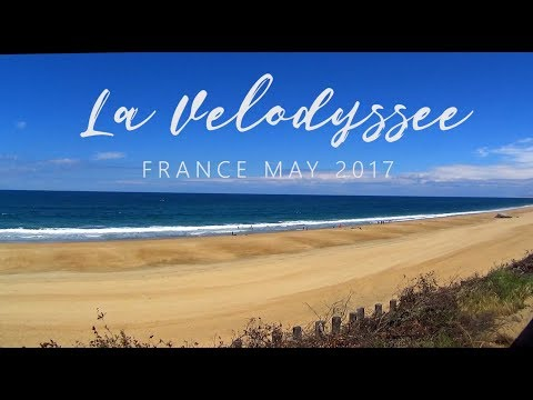 """La Velodyssee"" France bicycle trip"