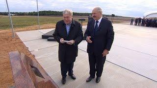 Лукашенко и Гуцериев заложили капсулу на месте строительства горно-обогатительного комплекса