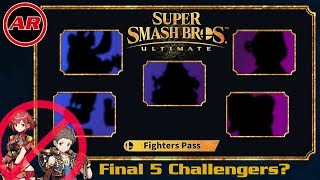 Predicting The 5 DLC Challengers In The Smash Ultimate Fighters Pass | Rex & Pyra Deconfirmed?