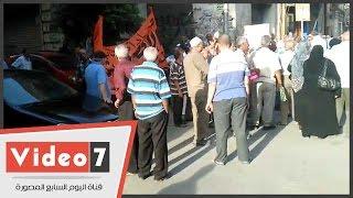 الأمن يمنع أصحاب المعاشات من التوجة لميدان طلعت حرب لإقامة إفطار العيش الحاف