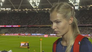 WCH 2017 London – Darya Klishina ANA Long Jump Silver