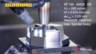 Guhring RF 100F Milling Cutter