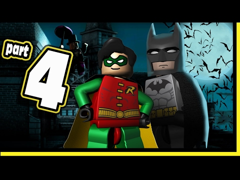 Lego Batman Video Game DS Walkthrough - Part 4 Riddler Gotham Bank