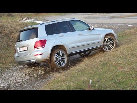 Mercedes-Benz GLK facelift 220 CDI 4Matic off-road test (English subtitles)