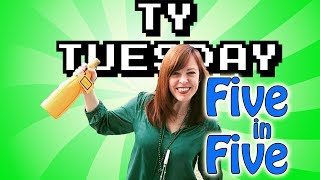 Ty Tuesday - Amy Bruni and the 5 in 5 Challenge