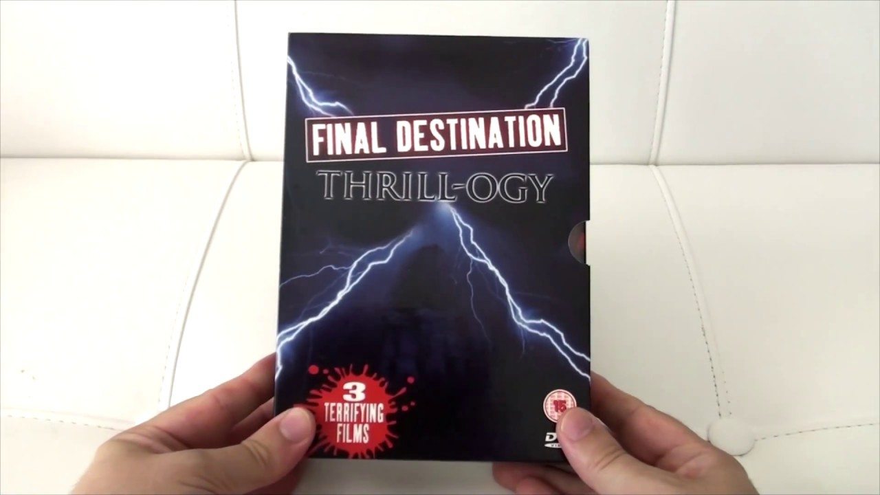 final destination 1 Final destination 1 is based around a school trip that goes tragically wrong, as the class of kids board the plane one of them has a vision that the plane will explode and tells everybody on the plane but thinking he is crazy only a few kids get off the plane with him thus they survive the disaster of the plane exploding & avoiding death by the.
