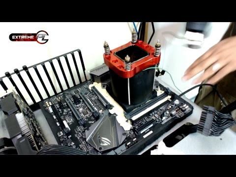 Overclock สุด Extreme พิชิต 7 GHz กับ intel Core i7 8700k