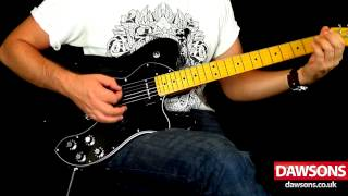 Fender Modern Player Telecaster Thinline Deluxe Demo