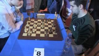 2015-09-06 Round 03 GM Inarkiev Ernesto - GM Nepomniachtchi Ian Moscow chess blitz