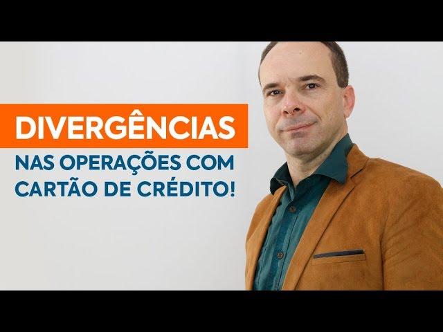 Multa - Divergências nas operações com cartão de crédito