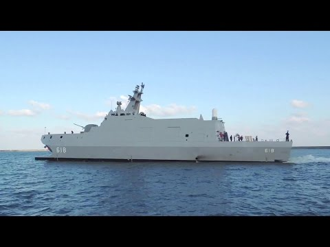 ROC Ministry Of National Defense - Tuojiang Stealth Littoral Combat Ship Sea Trials [1080p]