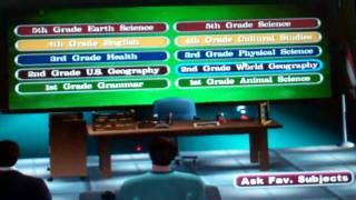Me Playing Are You Smarter Than A Fifth Grader:Make The Grade Pc Demo Part 1/2