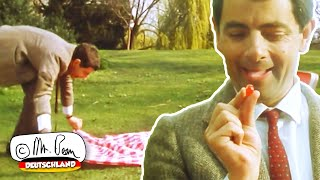 Mr. Beans Picknick im Park