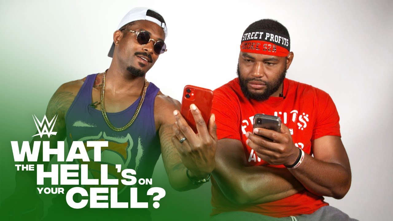 Street Profits unlock their phones: WWE What the Hell's on Your Cell? presented by Cricket Wireless