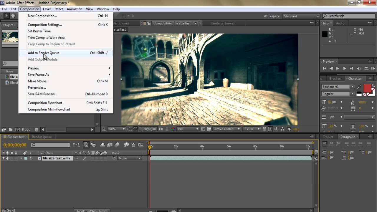 After Effects Cs4 Tutorials Pdf File