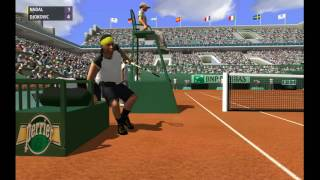 Nadal vs Djokovic  | Finale Roland Garros 2012 | Full Ace Tennis Simulator 2012 (Simulation)