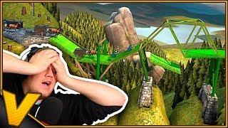 BROEN KOLLAPSER!! :: Bridge Constructor: Medieval