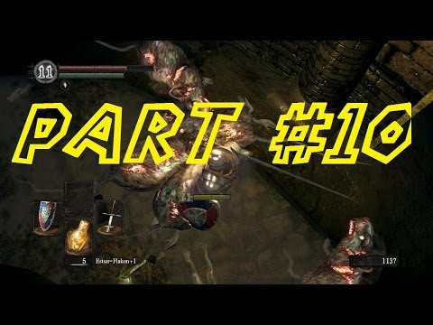 Let's Play Dark Souls Together - [German HD] #010 - Der Ziegendämon
