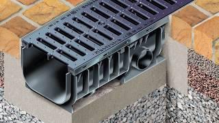 видео Лотки водоотводные бетонные цена