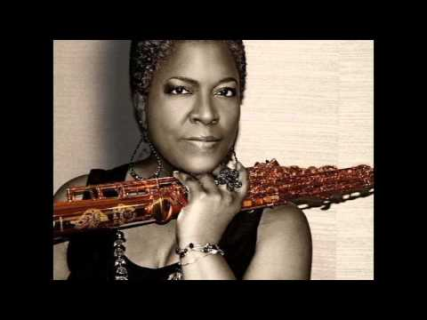 Crystal Brown Playing Sax Cover of He