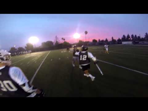 Early Morning Lacrosse Practice, Courage Field, Servite High School 2015