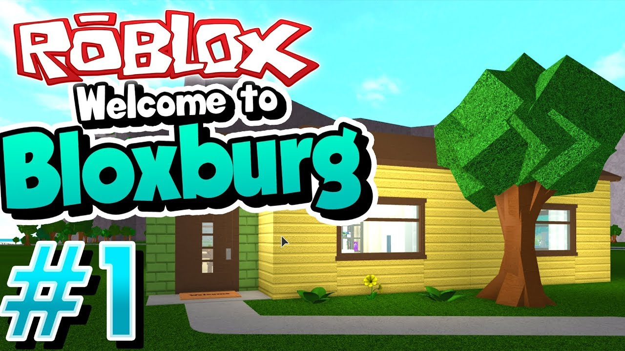 This Game Is So Realistic Roblox Welcome To Bloxburg 1 Youtube