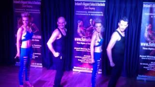 Salsa Dublin Teachers Group Performance- Salseire Dance Group