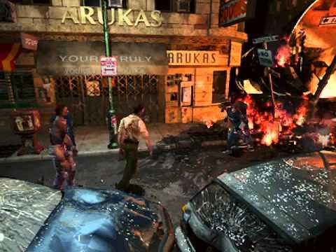 Resident Evil 2 Leon Paul Mercier voice from RE4 By tom aka DXZ.mp4