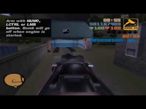 GTA III: Mission 60: 'Rigged To Blow' - Walkthrough 100% - 720P HD - PC