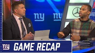 Giants vs. Bears Postgame Show | Recap, highlights, analysis