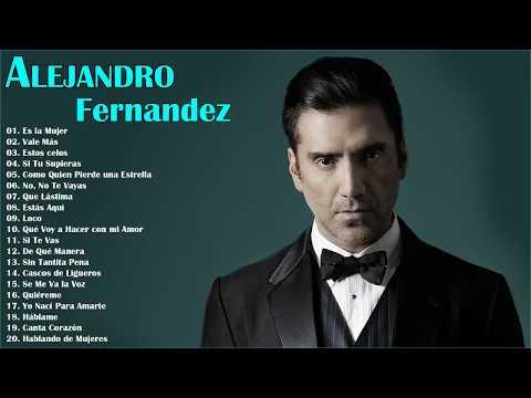 Alejandro Fernandez Sus Grandes Exitos || Las Mejores Canciones Rancheras De Alejandro Fernandez
