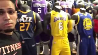 NBA Store New York City Vlog!