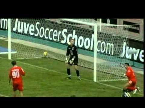 Juventus-Siena 3-0 – Tacco di Alessandro Del Piero (27/2/2005) Radiocronaca di Riccardo Cucchi