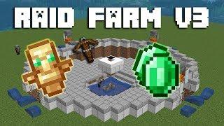 Simple Raid Farm Tutorial (Emeralds, 70+ Items, and Totems)   1.14.3+ Minecraft