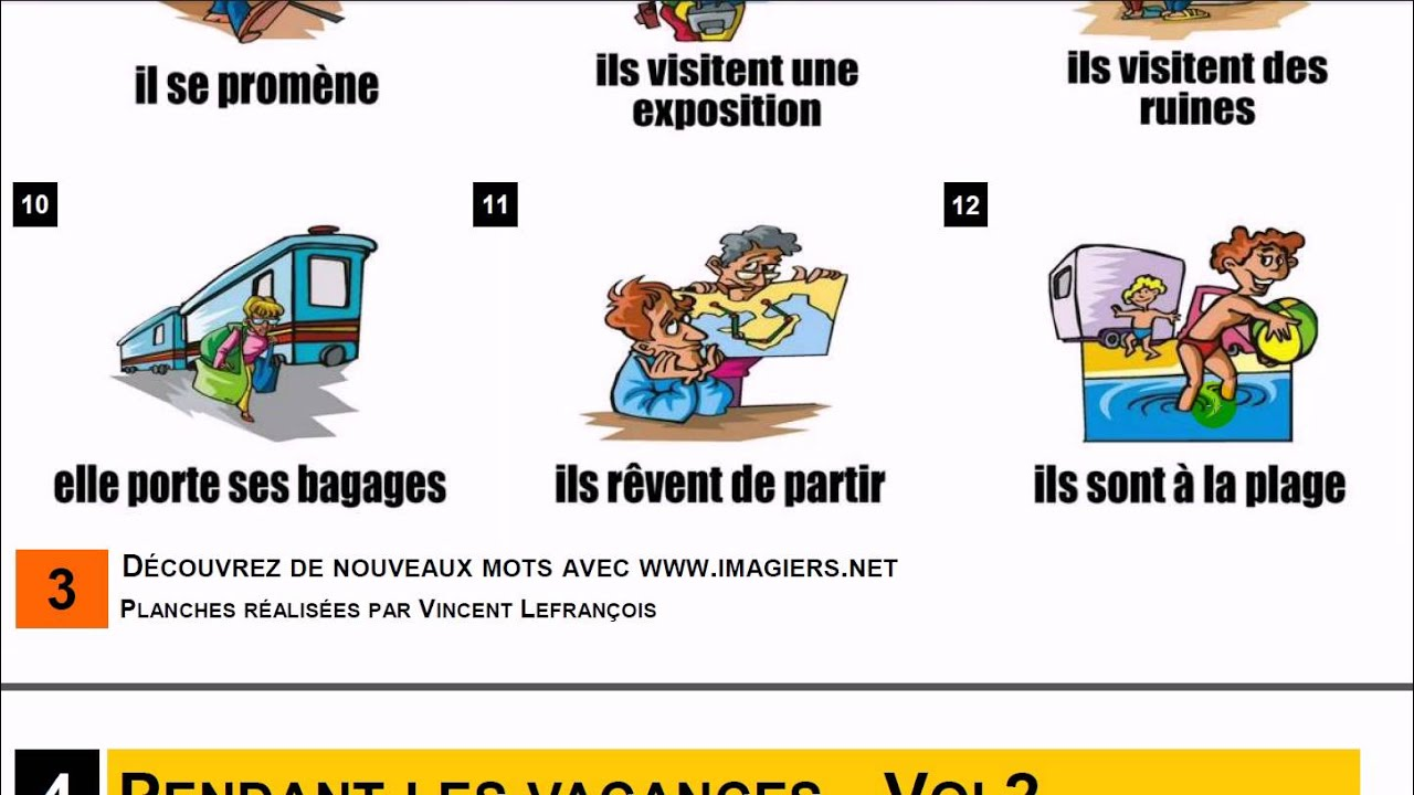 les vacances - french essay Aqa as french - les vacances covers all of aqa's vocab on les vacances essay writing content points as french 00 / 5 using 'si' (if) with various tenses in.