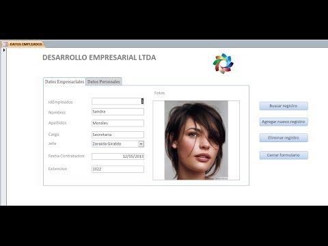 Base De Datos Empleados - Guía Complementaria De ACCESS