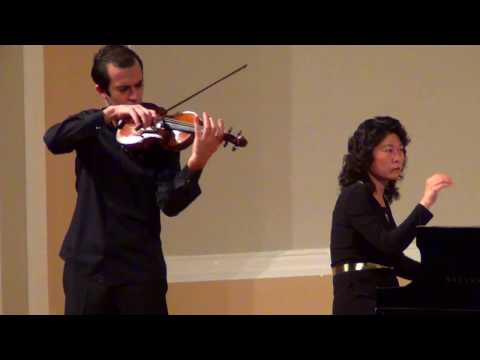 Haik Kazazyan (violin), Chen Woo(piano)