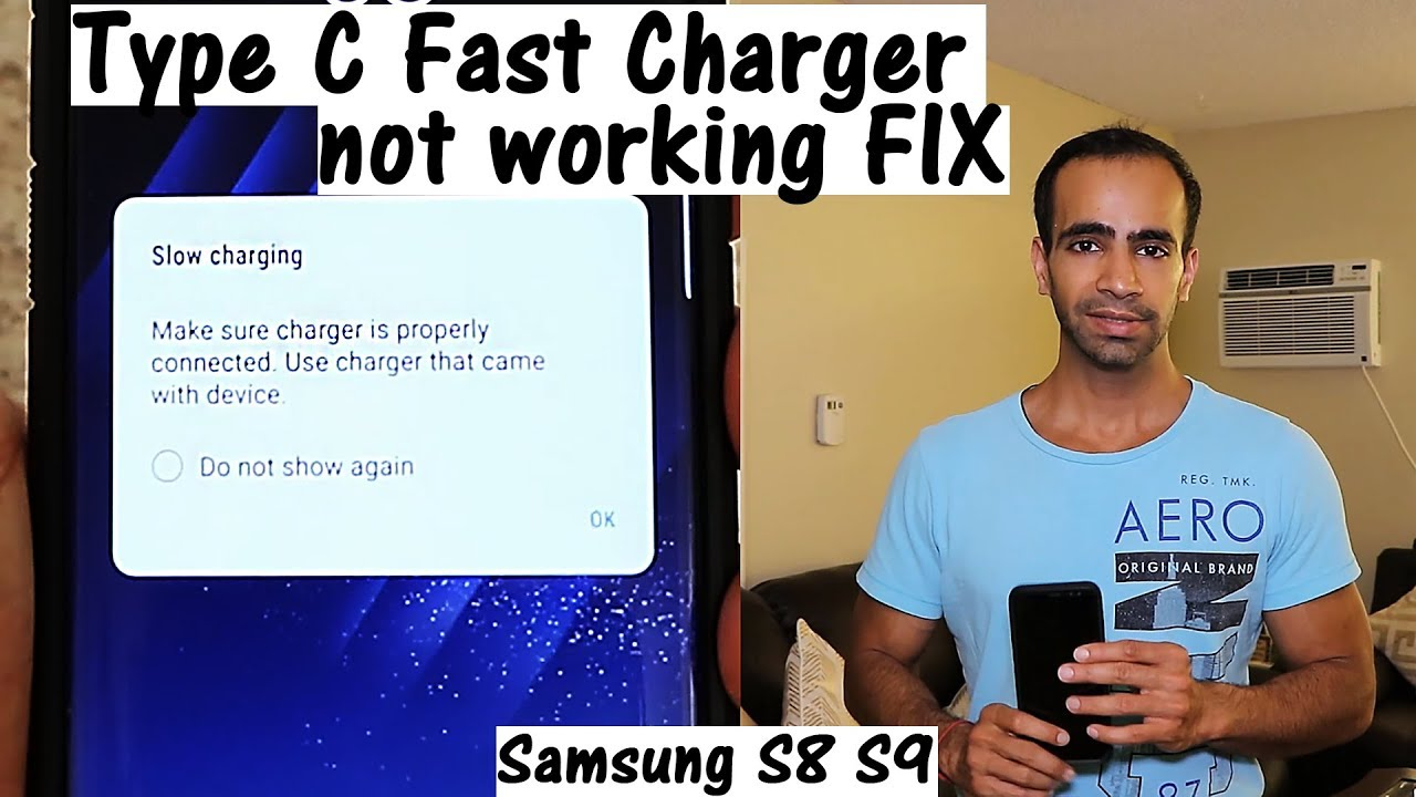 Solved Samsung Type C Fast Charger Not Working For S8 S9
